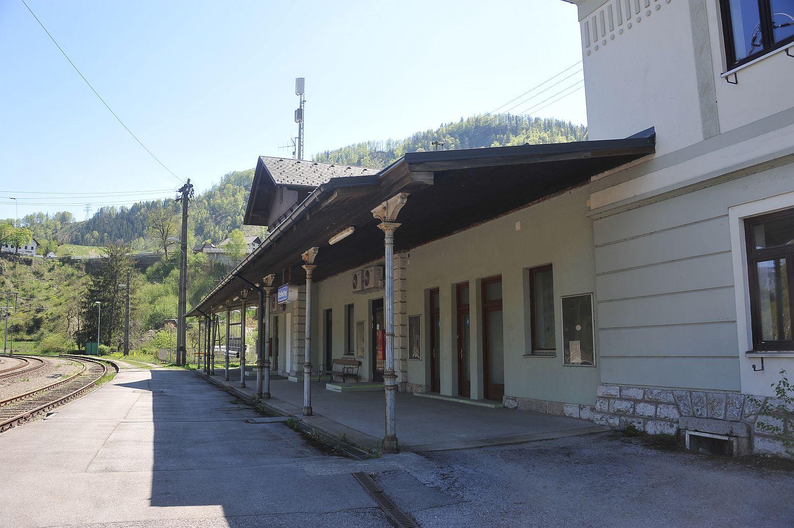 Bilder vom Bahnhof Großreifling