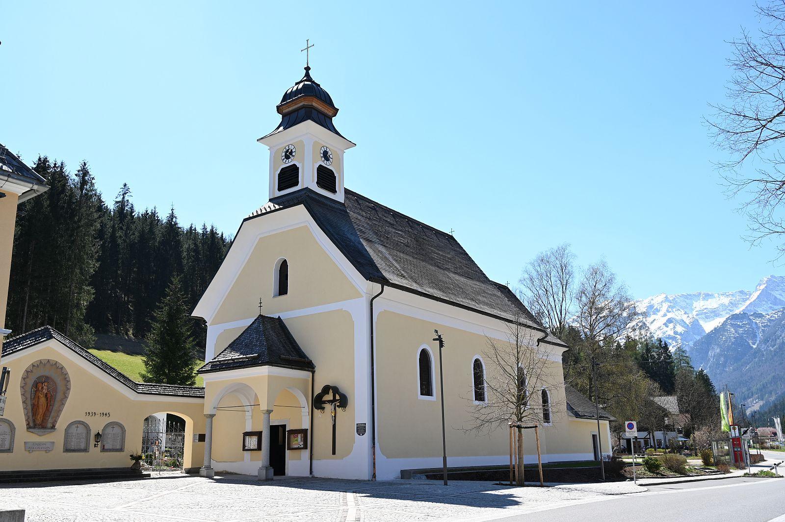 Die Kirche von Hinterstoder