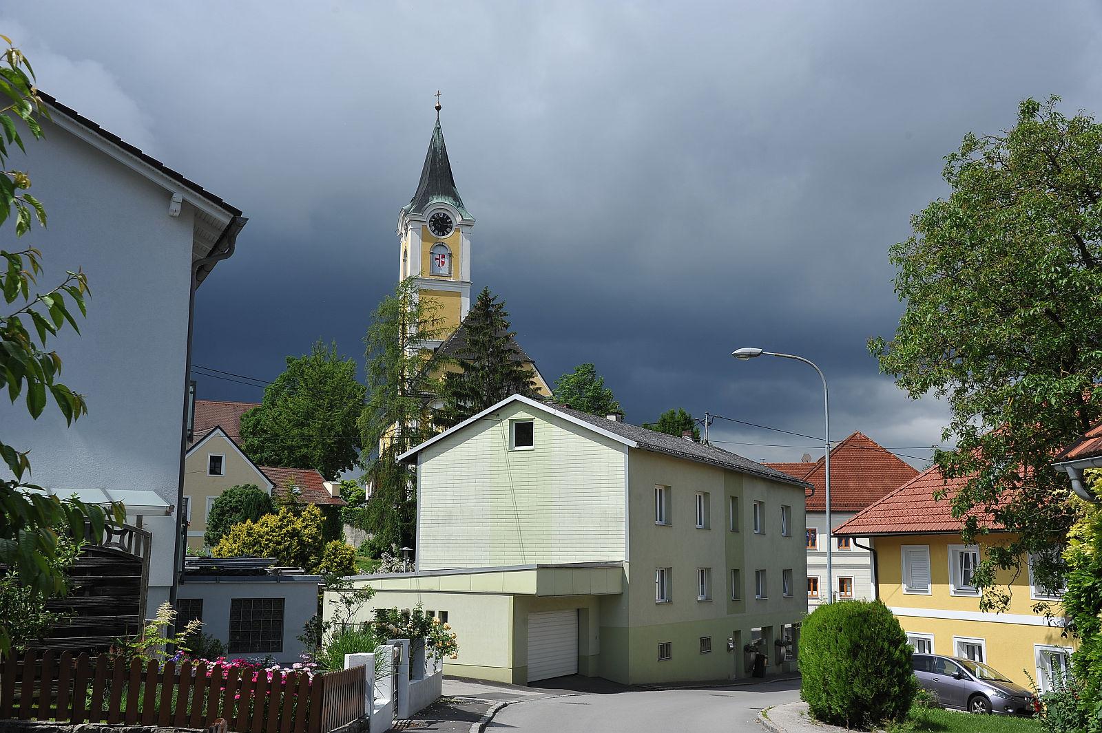 Die Kirche von Ansfelden